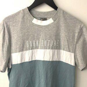 Asos Dark Future Tee Shirt Crew Neck Cotton